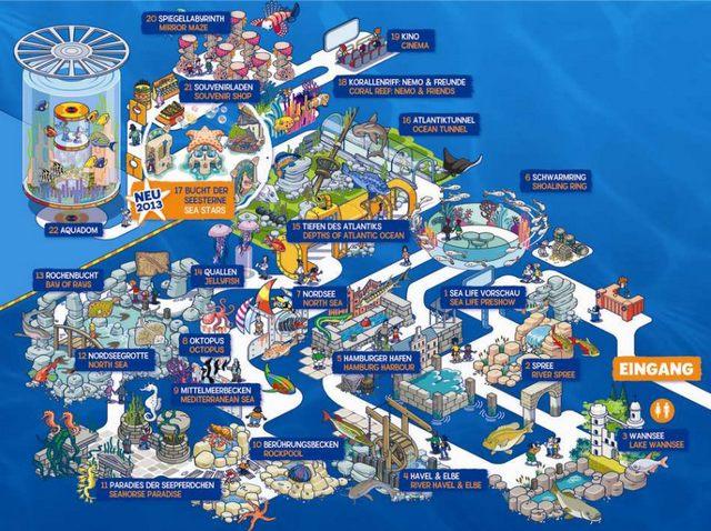 Aquadom Sea Life Berlin Tropical Islands Berlin Info